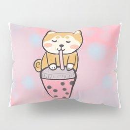 Boba with shiba Pillow Sham