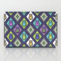 quilt iPad Cases featuring Scarabs Quilt by Vannina