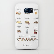 Foods of 30 Rock Slim Case Galaxy S8