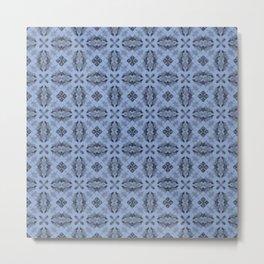 Serenity Diamond Floral Metal Print