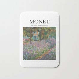Monet - The Artist's Garden at Giverny Bath Mat