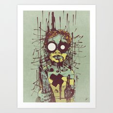 Puppet II. Art Print