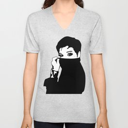 Liza Minnelli - Pop Art Unisex V-Neck