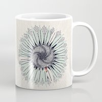 fibonacci Mugs featuring Fibonacci by Jennifer Thy