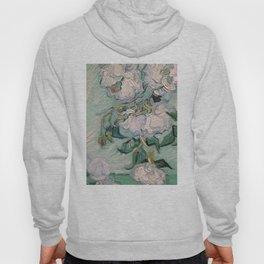 CLASSICS   VAN GOGH - White Roses   Close up Hoody
