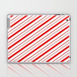 Candy Cane Stripes Laptop & iPad Skin