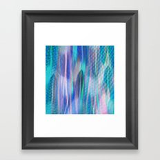 Feathers and Tulle Framed Art Print
