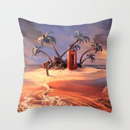 In the event of sinking Throw Pillow