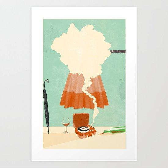 LOBBY PARTY Art Print