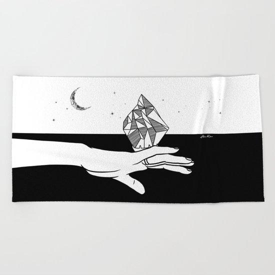 Cold Love Beach Towel