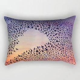 Murmuration Rectangular Pillow