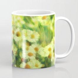 """Spring of daisies, green and sunlight"" Coffee Mug"