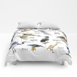 Herons of North America Comforters
