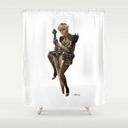 Fenris Shower Curtain