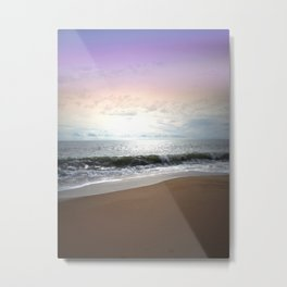 Light Pastel Seascape Metal Print