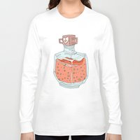 health Long Sleeve T-shirts featuring Health Potion by Sam Mameli