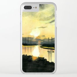 Creek View Clear iPhone Case