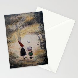 Into the Unknown - Over the Garden Wall Stationery Cards
