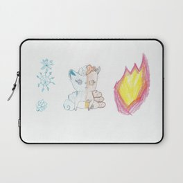 Fire and Ice Vulpix Laptop Sleeve