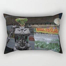 Stopp GMO Rectangular Pillow