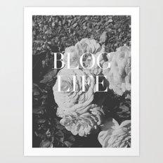 blog and/or thug life Art Print