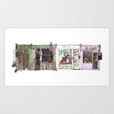 Camden Passage Art Print
