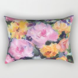 Rose Cotillion Rectangular Pillow
