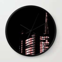 Porta Nuova - Serie Milan Lights Wall Clock
