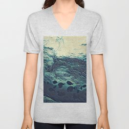 Underwater Waves Unisex V-Neck