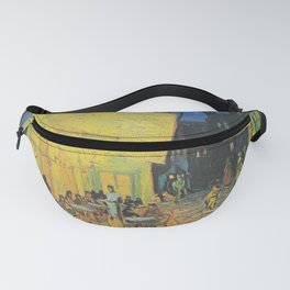Vincent van Gogh - Cafe Terrace at Night Fanny Pack