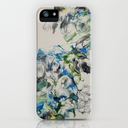 Smoke and mirrors iPhone Case