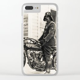 The wild one Clear iPhone Case