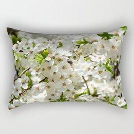 Blooming cherry Rectangular Pillow