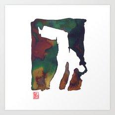 Capoeira 424 Art Print