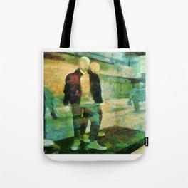 Faceless  Manikin Tote Bag