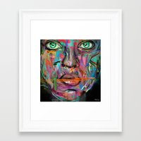 wonder Framed Art Prints featuring Wonder by Archan Nair