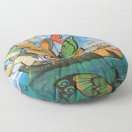 Salvador Dali 3 Floor Pillow