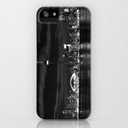 Toronto Skyline, Monocrome iPhone Case