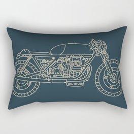 Cafe Racer 4 Rectangular Pillow