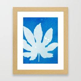 Colored Leaf Framed Art Print
