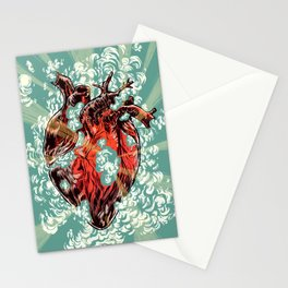 Heart Explosion Stationery Cards