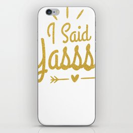 I Said Yasss Wedding Announcement Engagement Yes iPhone Skin