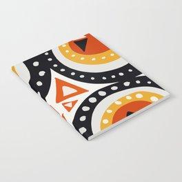 African Abstract Art Pattern Notebook
