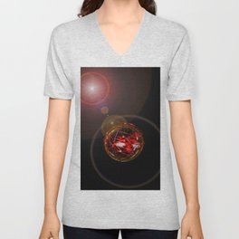 Magical Light and Energy 3 Unisex V-Neck