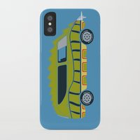 1975 iPhone & iPod Cases featuring Death Race 2000 Alligator Van by Brandon Ortwein