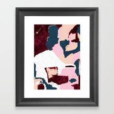 Blood & Bone Framed Art Print