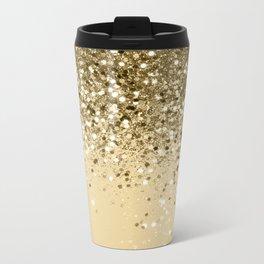 Cali Summer Vibes Lady Glitter #1 #shiny #decor #art #society6 Metal Travel Mug