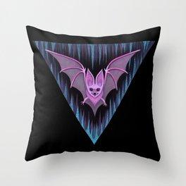 Through the Vortex Flow Throw Pillow