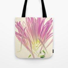 Love me, Dhalia - Botanical Print Tote Bag