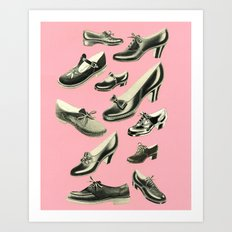 Shoe Fetish Art Print